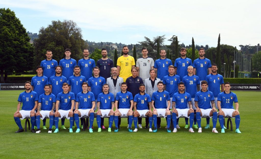 Nazionale Italia Europei 2021