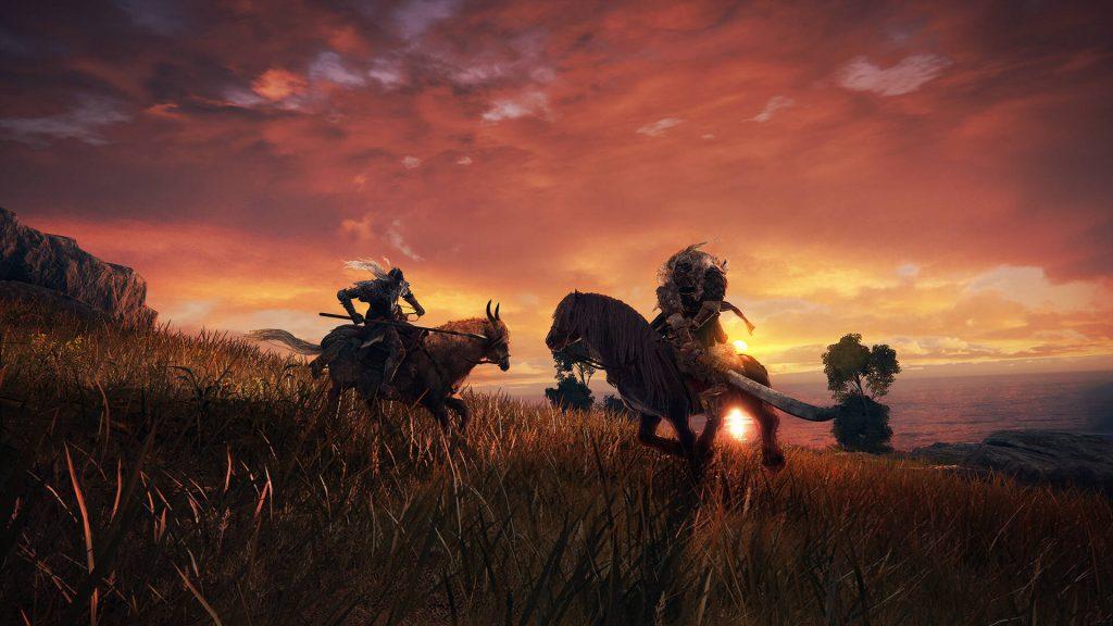Cavalieri Elden Ring a cavallo
