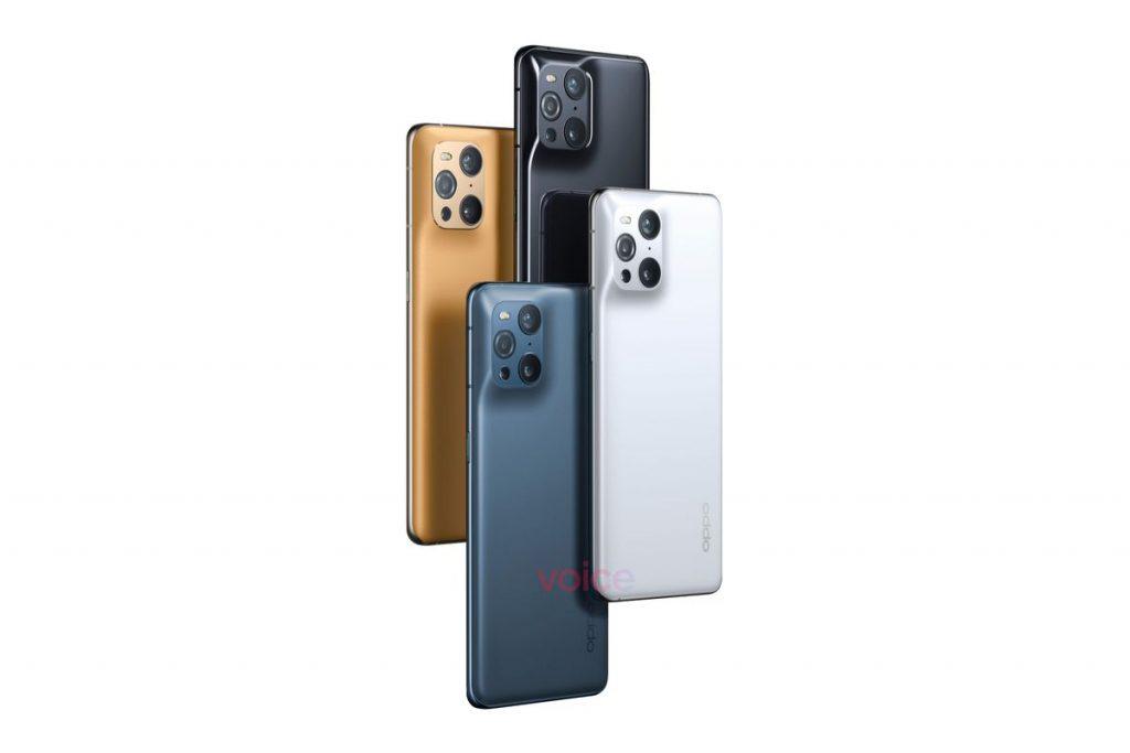 OPPO Find x3 Pro colori