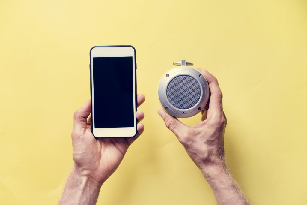 Iphone e speaker bluetooth