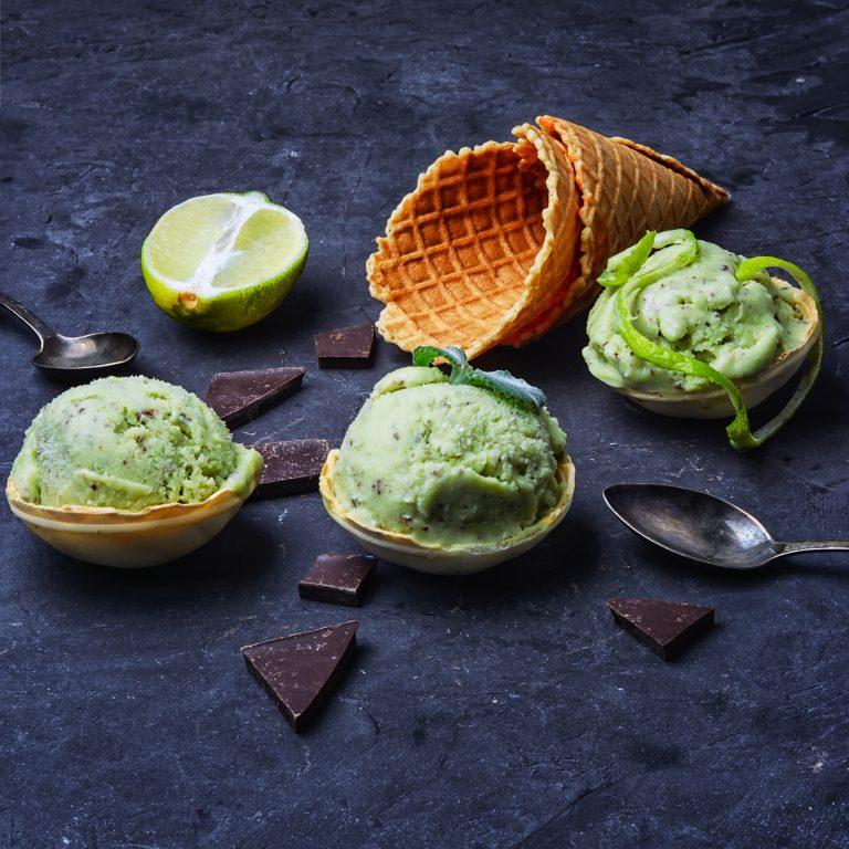 gelato e cono